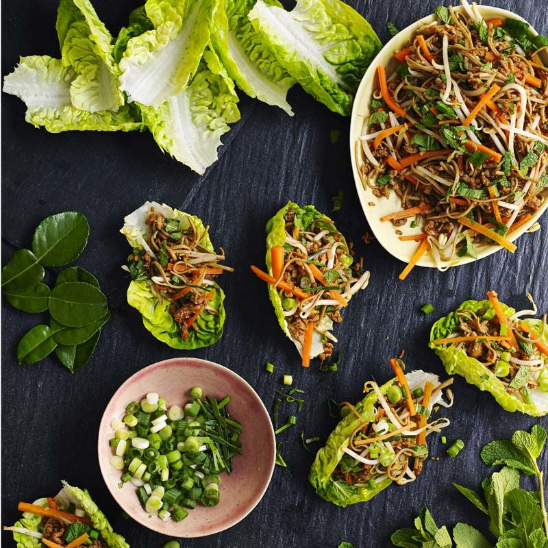 Foto av Asiatiska salladswraps med färs från WW ViktVäktarna