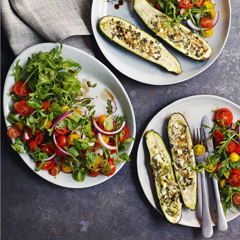 Foto av Fylld zucchini från WW ViktVäktarna